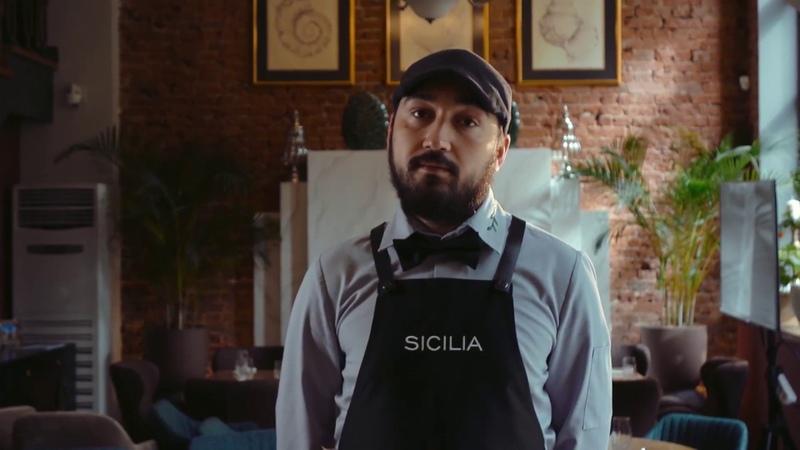 Видео-презентация шеф-повара ресторана Sicilia Владимира Коротких