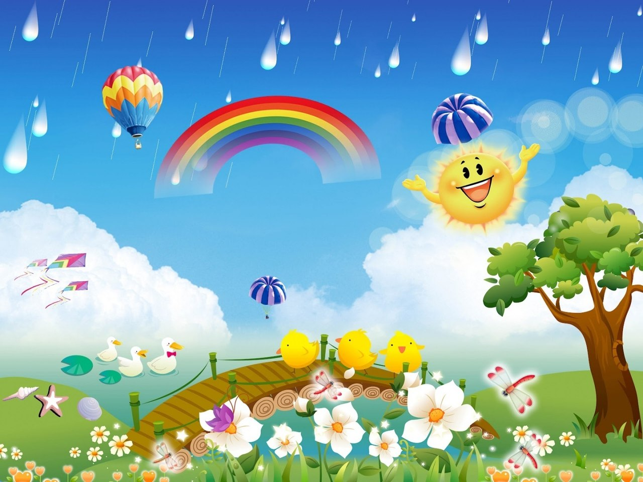 Приколом, красивая картинка с надписью лето в детский сад