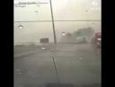 Semi truck jackknifes on Las Vegas highway as the city was inundated with heavy rainfall