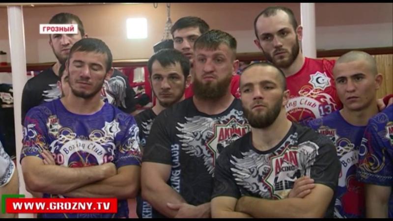 Чеченские спортсмены перенимают опыт у экс-чемпиона мира по версии WBO Дмитрия Пирога