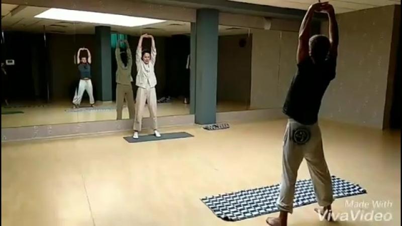 Цигун в фитнес-клубе С.С.С.Р. Химки