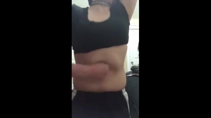 Brutal Self Belly Punching