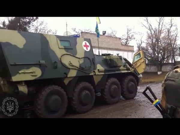 25 бригада ВДВ ЗСУ выезжает в АТО