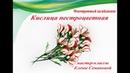 Кислица пестроцветная МК Елены Семановой