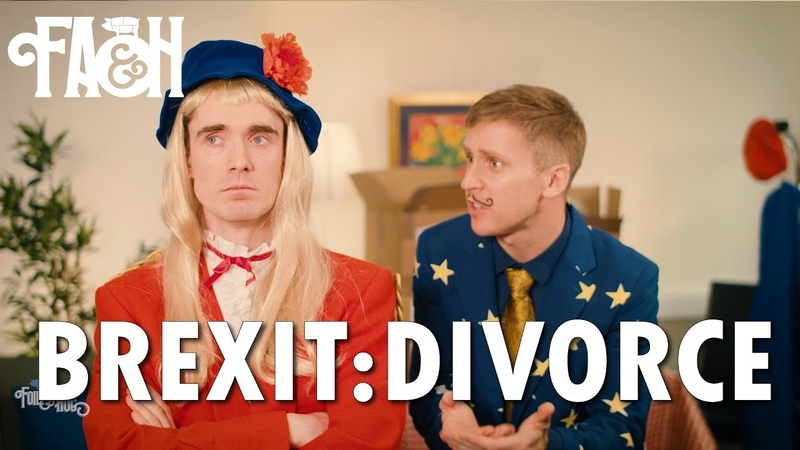 Brexit Divorce - Foil Arms and Hog