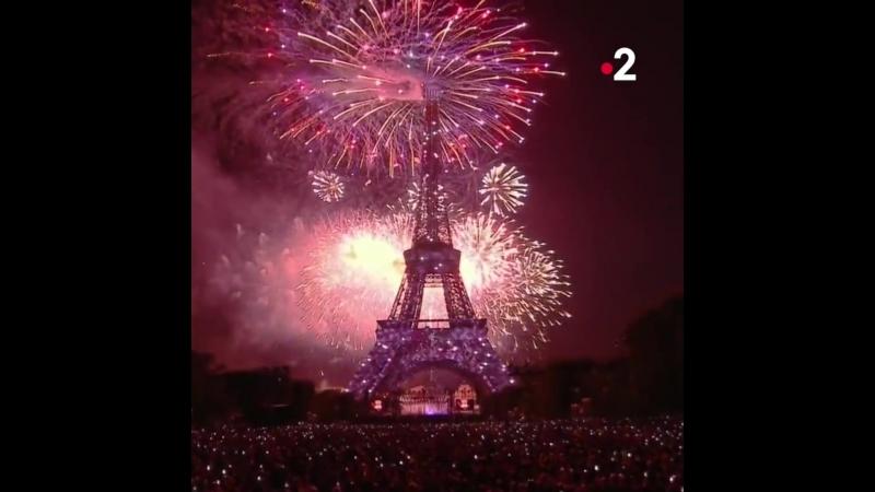 Le feu d'artifice du 14 juillet 2018_France 2