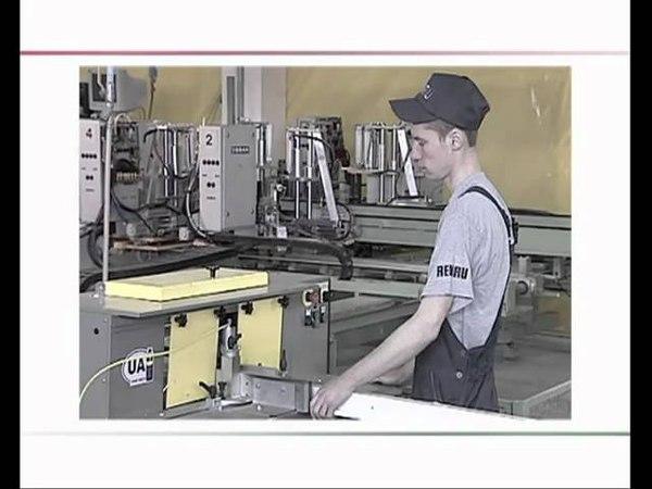 Производство металлопластиковых окон из профильных систем REHAU