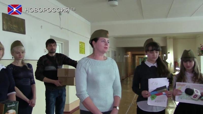 Дети поздравили пациентов госпиталя реабилитации военных.