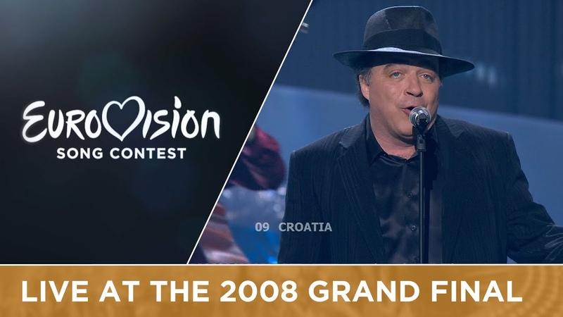 Kraljevi Ulice 75 Cents - Romanca (Croatia) Live 2008 Eurovision Song Contest