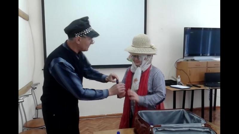 Николай Николаевич в роли французского таможенника и Артемий в роли прилетевшего пассажира » Freewka.com - Смотреть онлайн в хорощем качестве