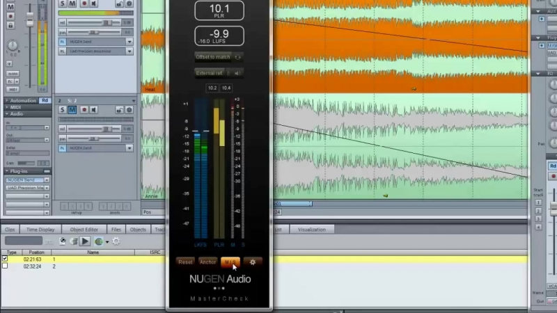 EN Friedemann introduces the MasterCheck, the new loudness matching tool by NUGEN