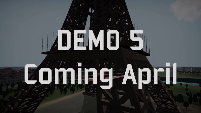 TTS Demo 5 coming in April 2018!