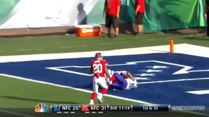 Throwback to the 2012 Probowl when Cam Newton Steve Smith connected on a deep touchdown!