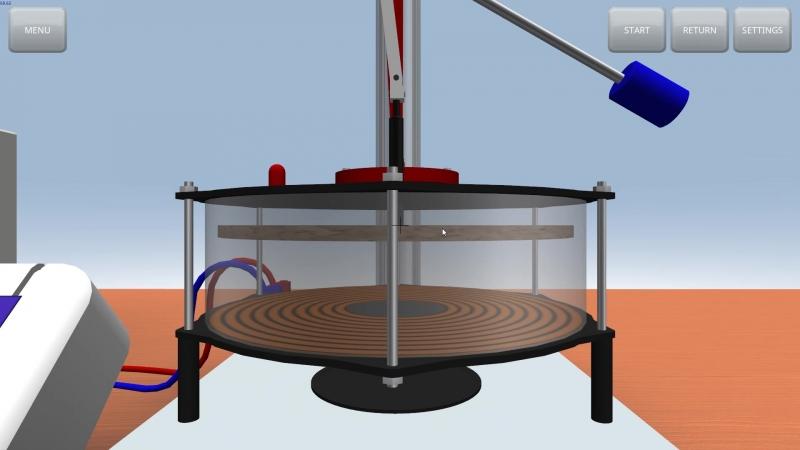 Лабораторный двигатель Стирлинга модели D