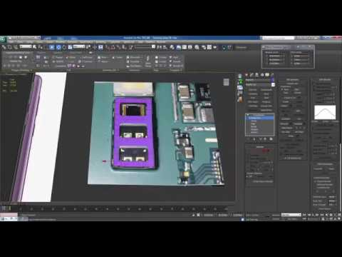 Advanced modeling Samsung Galaxy s9 plus 3ds max 15 hours in 40 min Part 45