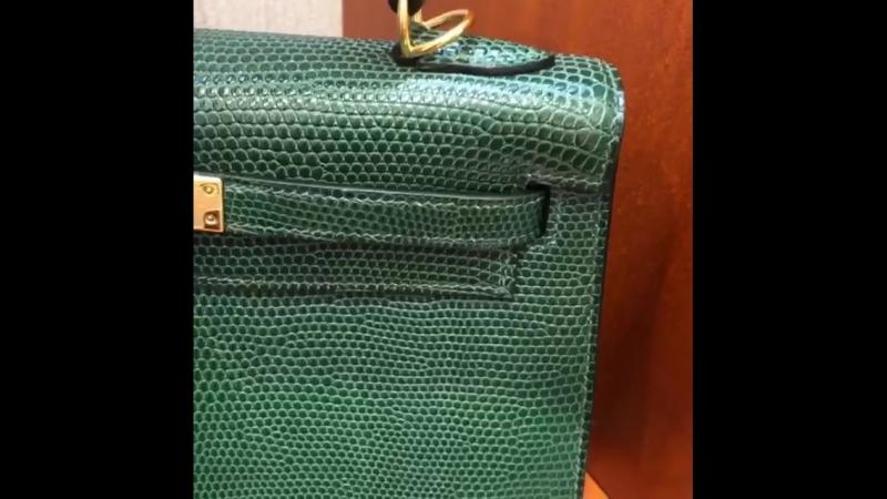 Hermes_chanel_luxury_buyerHermes Kelly из кожи ящера Полностью ручная работа Импортированная кожа Фурнитура палладий или покрыти