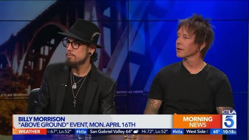 Rockers Dave Navarro and KTLA Loyal Viewer Billy Morrison Talk