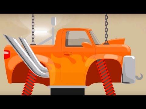 Мультфильм про машинки - Доктор Машинкова -Секреты Доктора Машинковой, или Монстр-трак