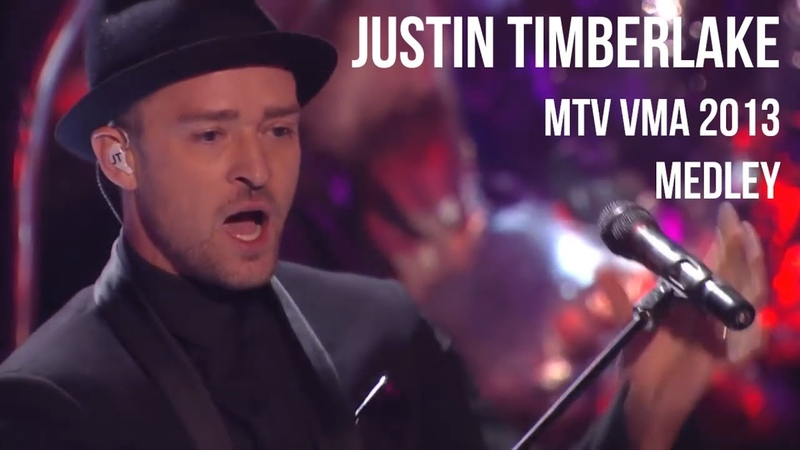 Justin Timberlake - Medley MTV VMA 2013 | sub Español lyrics