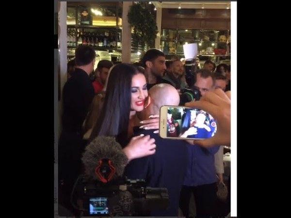 На гала-ужине МУЗ ТВ Бузова целовалась с Дмитрием Нагиевым