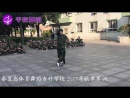 QianYe Dance. Super Ballroom dancing during the military training camp