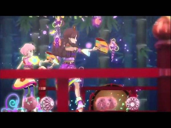 Aikatsu! Episode 121 「Light Pink Day Tripper」by Fujiwara Miyabi Kitaoji Sakura