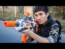 Special S.W.A.T : Two Seal Team AL Skills Sniper Fight Attack Gangter Nerf Guns EP 3