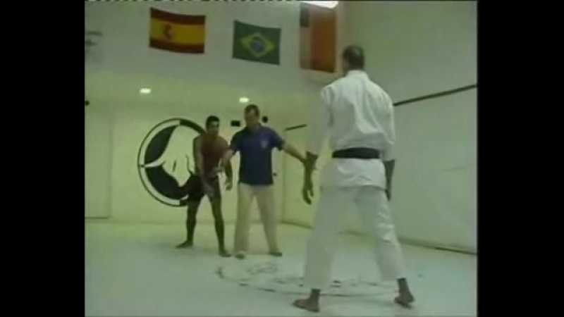 Каратэ против дзю-дзюцу