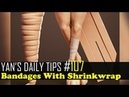 Yan's Daily Tips 107 Bandages With Shrinkwrap Blender Tutorial