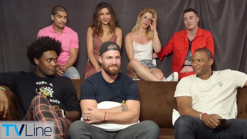 Arrow Cast Talks Season 7, Jaw-Dropping Premiere Moment | Comic-Con 2018 | TVLine
