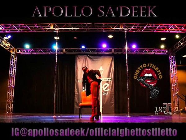 Apollo Sa'Deek Pole Con 2018 Promo