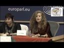 Ahed Tamimi en el Parlamento Europeo El papel de la mujer en la Resistencia Popular Palestina