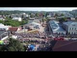 Международный Фестиваль Шляп 2018, в Вятских Полянах. Вид сверху.