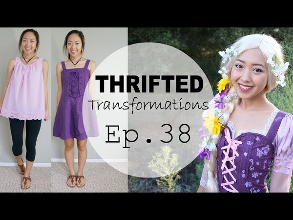 Thrifted Transformations Ep 38 Rapunzel Costume