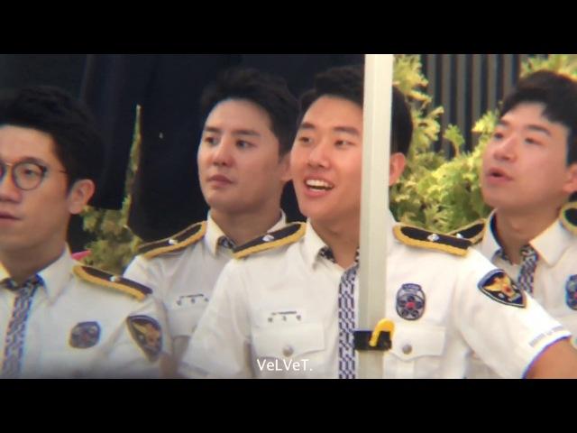 170721 경기남부경찰홍보단 몰카착카 광명동굴 - 마술 구경하는 준짱 김준수 XIA