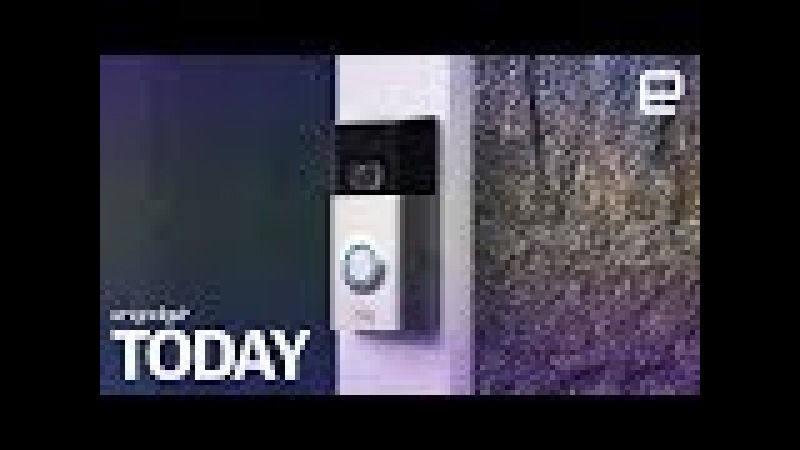 Amazon buys Ring's smart doorbell business | Engadget Today