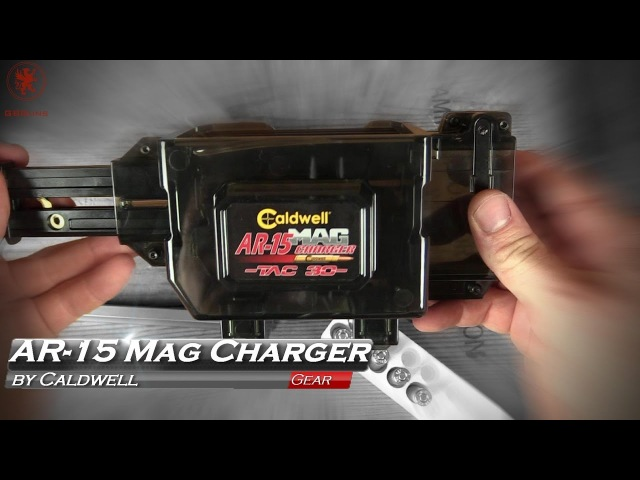 Fill an AR-15 Mag in 10 Seconds? Caldwell Tac-30 Mag Charger