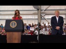 First Lady Melania Trump Recites The Lord's Prayer