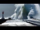 Шторм Звуки природы Шторм на море Шум волн Sounds of Nature Storm Storm on the sea waves noise