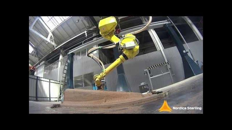 Multi-stage robotic milling