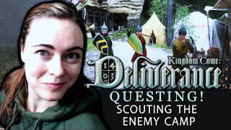 [QUESTING 5 - The Enemy Camp Artistic Disguise ] Kingdom Come: Deliverance | Beta Walkthrough