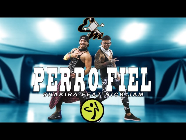 Shakira - Perro Fiel (Version Zumba) Feat Nick Jam - Choreography Equipe Marreta