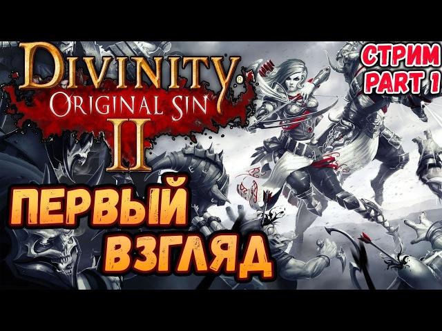 Divinity: Original Sin 2 | Первый запуск | Начало игры | Подгрузи трансляцию на twitch'е!