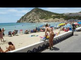 UNA VUELTA ENTERA DE LA PLAYA CALA FINESTRAT Alicante Espa