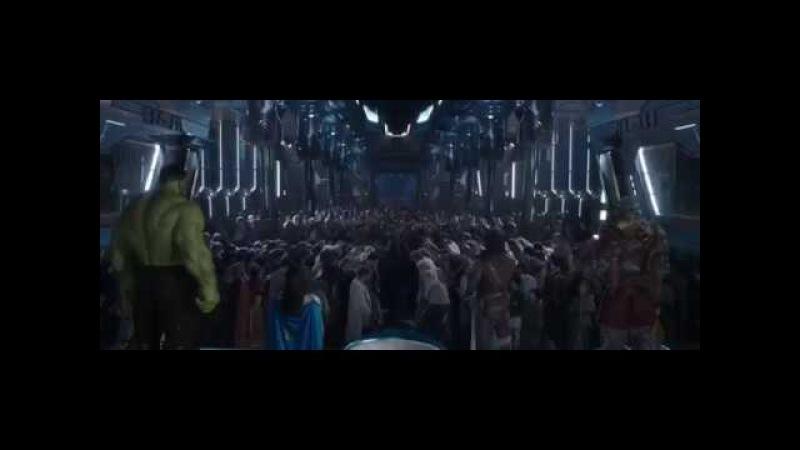 Thor: Ragnarok - Thor becomes King of Asgard Scene