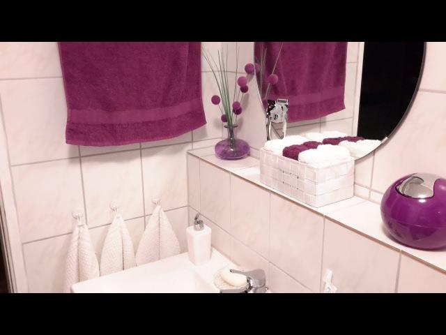 ХРАНЕНИЕ И ДЕКОР В ВАННОЙ КОМНАТЕ! ROOM TOUR 2 Я ЧАСТЬ....Room Tour Bathroom