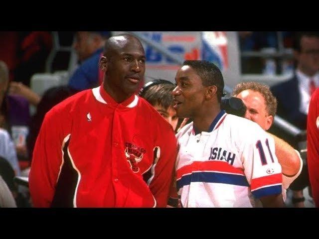 The Michael Jordan and Isiah Thomas Story - How it began