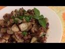 Баклажаны жареные с луком как грибочки./ Баклажаны под грибы. /Как приготовить вкусные баклажаны.