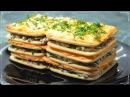 Закусочный торт «Наполеон» из крекера без выпечки. Рецепт проще простого Семе ...