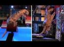 American Ninja Warrior Videos Ninja Saurus Dinosaurio Sorprende al Publico
